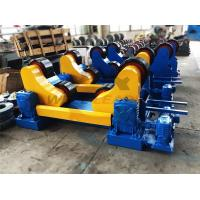 Quality Standard 20 Ton Industrial Welding Rotator PU Rollers For 20m Pipes Welding wholesale