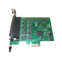 Buy cheap 8 Port PCI Express x1 rs232 serial adapter card, pci express serial port card with RTS / CTS Flow control from wholesalers