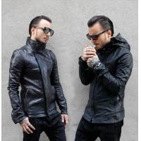 Quality Men's classic motorcycle leather jackets wholesale