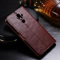 Anti - Dirt Huawei Leather Case For Huawei Mate 9 Magnetic Slim Design
