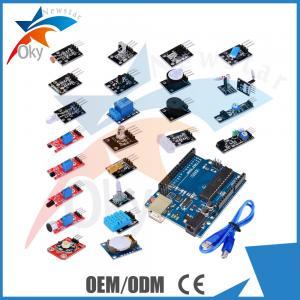 New Electronics Starter Kit For Arduino , DIY Geek Kit Color Led Sound
