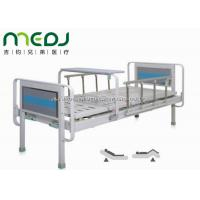 Quality Semi Fowler Manual Hospital Bed , MJSD06-03 Two Cranks Hospital Patient Bed wholesale