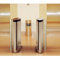 Quality Fingerprint Automatic Systems Turnstiles 1.5 mm Cover  Pedestrian Turnstile Gate wholesale