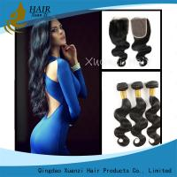 Quality Full Cuticle Unprocessed Malaysian Virgin Hair Extensions No Shedding 100g wholesale