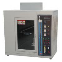 Quality Fire Flame Plastic Burning Test Chamber UL 94 Standard AC 220V 50Hz wholesale
