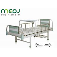 Quality MJSD05-08 Manual Hospital Bed , Two Cranks Adjustable Hospital Beds With Dinning Table wholesale