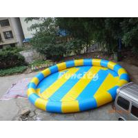 Best Colorful 0.6 Mm Pvc Tarpaulin Inflatable Water Pools Water Swimming Pools wholesale