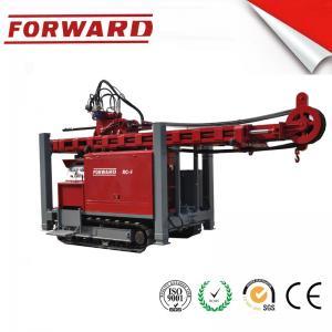 Crawler Mounted Hydraulic Mud / Water Borehole Drilling Rig 420 Mm Maximum Diameter Drilling Hole