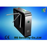 Luxury Black Security Tripod Turnstile Gate Civilized And Orderly Access