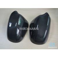 Quality E90 Carbon Fiber Mirror Covers For BMW 3 Series  2009 - 2011 With 100% Fit Original wholesale