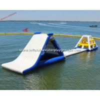 Commercial Inflatable Water Park Equipment , Durable PVC Tarpaulin