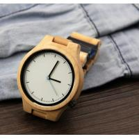 Quality Popular Handmade Wooden Wrist Watch with Japanese Movement , custom your own logo wholesale