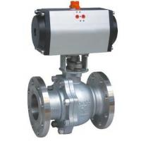 Best 8' Electric Operation full Opeing Material A216 Gr WCB Ball Valve Flange Connection wholesale