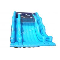 Quality Little Tikes Adult Giant Inflatable Slide Pool With 3 Layer , PVC Tarpaulin wholesale