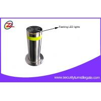 Best Rugged Automatic Retractable Security Bollards / Hydraulic Rising Bollards For Bank wholesale