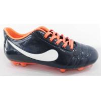 Quality Flexible TPU Outsole Outdoor Soccer Cleats Firm Groud PU Upper wholesale