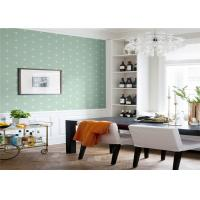 Quality Non Woven Removable American Style Wallpaper Flower Design 5.3 Sqm / Roll wholesale