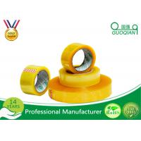 Quality Hot Melt Transparent BOPP Packing Tape For Carton Sealing Environmental Protection wholesale