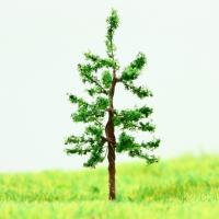 Quality Train Track Layout Miniature Model Trees Green Street Wire Tree Hoop Pine 3.8cm wholesale