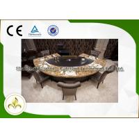 Best Pipeline Natural Gas Fan Shape 9 Seats Teppanyaki Grill Table 8kw wholesale