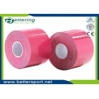 Kinesiology Tape Kinesio Tape 5cm x 5m Waterproof Pure Cotton,Sports Safety Muscle Tape Pink Colour