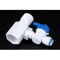 Best Quick Connect Tee RO Water Treatment System Two Way Sliptter And Inlet Valve wholesale