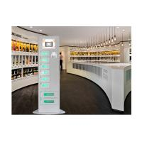 Best Slim Design Quick Charge Cell Phone Charging Kiosk with Advertising Screen wholesale