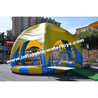 Best Inflatable Swimming Water Pool with 6 legs mobileTent cover and protective net wholesale