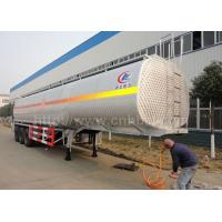 55CBM 3 axles aluminum alloy fuel/gasoline/oil delivery semi-trailer(CLW9403GYY)