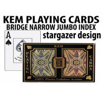 Quality Advanced KEM Stargazer Invisible Ink Marked Card Decks For Cheating Poker Games wholesale