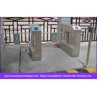 Quality EM card Electronic Swing Turnstile Access Control , One Way / Two Way wholesale