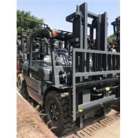 Quality Pneumatic Tire Diesel Forklift Truck Equip Efficient Engine Heavy - Duty Axle wholesale