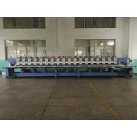 Buy cheap Flat 18 heads 9 colors Embroidery Machine for sale from wholesalers