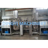 Quality High Shear Mixer Shampoo Production Line , Shampoo Manufacturing Equipment wholesale
