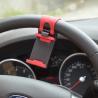 Quality Universal Car Mount Holder Clamp Universal Mobile Phone Car Steering Wheel Cradle Mount Holder wholesale