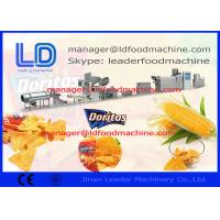 Quality Doritos / Corn Chips / Tortilla Machine , Food Production Line , 380V 50HZ wholesale