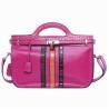 Quality Genuine Cow Leather Handbag For Girl Red Handmade Messenger Bags wholesale