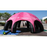 Outdoor Advertising Inflatable Tent , Inflatable Spider Dome Tent with Legs