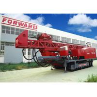 1800m DTH RC Top Drive Rig Water Well Drilling Rig With Crawler Mounted
