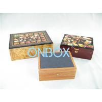 Quality Luxury Gifts Packaging Painted Wooden Boxes For Cigar , Watch , Jewellry wholesale