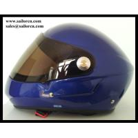 Blue Hang glider helmet full face Paraligliding helmet 760g+/-50g EN966 certification