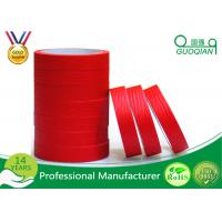 Quality Quality product Red crepe paper Maksing Tape For Automotive painting decoration 75mm Width wholesale