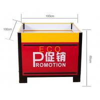 Quality Fashion Design Metal Steel Supermarket Accessories Promotion Display Stands Table wholesale
