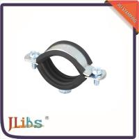 Quality Wall Mount Cast Iron Pipe Clamps One Side Open One Side Closed 4 Point Welding wholesale