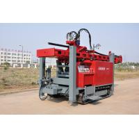 Safety Self - propelled Crawler Mounted Water Well Drilling Rig 400m 2-5 inch