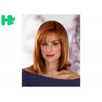 Quality Generous And Decent Natural Straight Hair Synthetic Fiber Wigs For Women wholesale