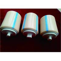 Low Friction Coefficient Plastic Nylon Rollers Dia 89X100mm Fertilizer Industrial