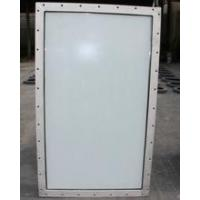 Quality Aluminum Double Layer Soundproof Hollow Marine Glass Windows For Engine Room wholesale