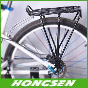 Aluminum alloy mountain bicycle rear carrier shelf