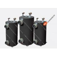 Seamless Titanium Vertical Shell And Tube CondenserFor Swimming Pools Heat Pump